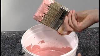 видео покраска стен декоративной краской