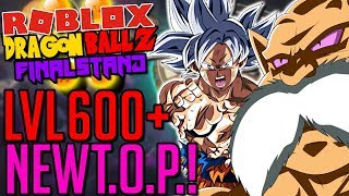 *NEW* TOURNAMENT OF POWER LVL 600+ STAGE! MUI?!? G.O.D. Toppo?!? | Roblox: Dragon Ball Z Final Stand