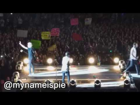 one direction - on the road again (otra) milwaukee FULL HD show 8.25.15
