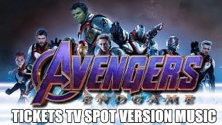 AVENGERS: ENDGAME TV SPOT Music Version | Proper TICKETS Movie Trailer Soundtrack Theme Song
