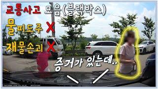 교통사고 블랙박스 영상 | 문콕 아주머니 고의성이 없다…