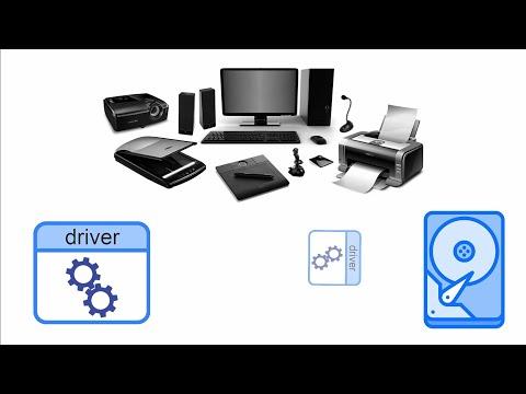 Где на компьютере хранятся драйверы установленных устройств