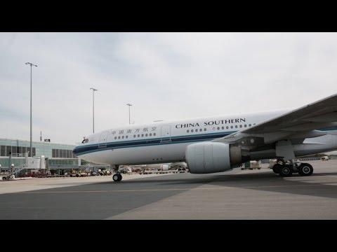 China Southern's inaugural flight into Adelaide