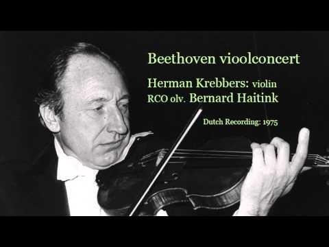Beethoven violin concerto Herman Krebbers