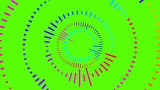AUDIO SPECTRUM EFFECT GREEN SCREEN