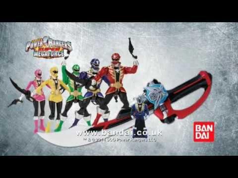 Download Power Rangers Super Megaforce 12.5cm Action Figures and Deluxe Super Mega Sabre