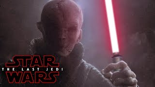 Star Wars The Last Jedi - Snoke's Lightsaber