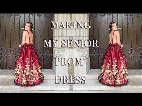 Make your own prom dress game