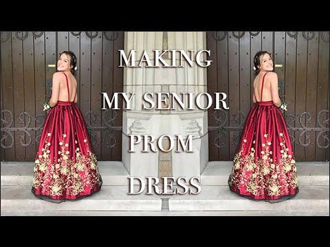 making-my-senior-prom-dress