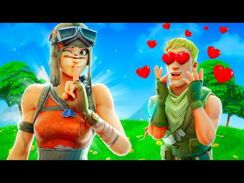 I Pretended To Be A GIRL In Fortnite..
