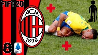 FIFA20   CARRIÈRE MILAN : LES CROISÉES POUR JUSTIN ! #08