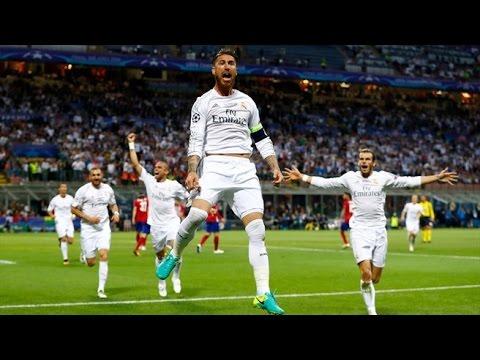 Liga Champions Final 2016 | Real Madrid vs Atletico Madrid 1-1 (5-3) All Goals & Full Penalties