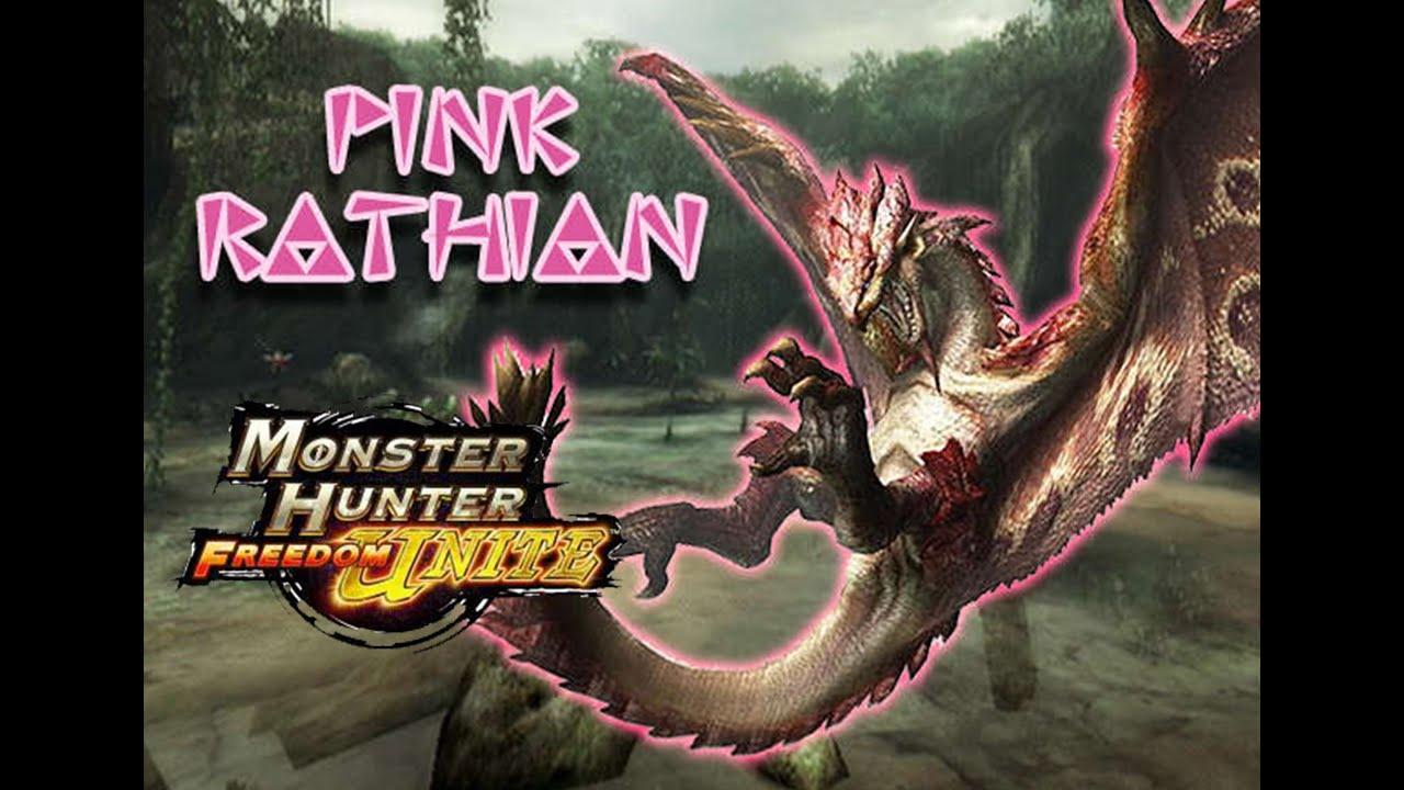 monster hunter freedom unite how to get rathian plate