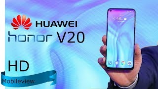 Honor View 20 First Look, Specification, Price, Release, Trailer Video