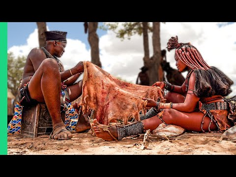 The WILDEST Food in Africa's Emptiest Country!!! (FULL DOCUMENTARY)