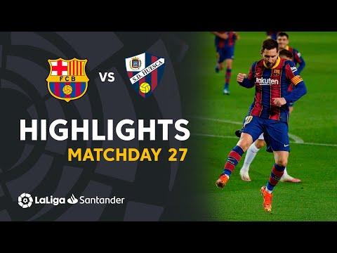 Highlights FC Barcelona vs SD Huesca (4-1)
