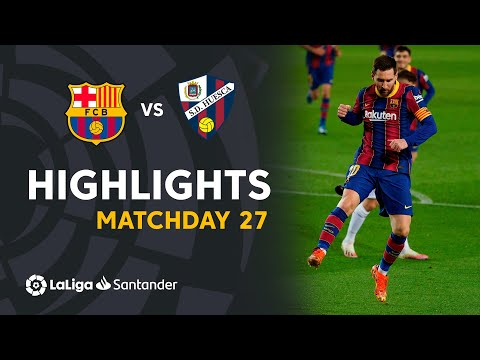Barcelona Huesca Goals And Highlights