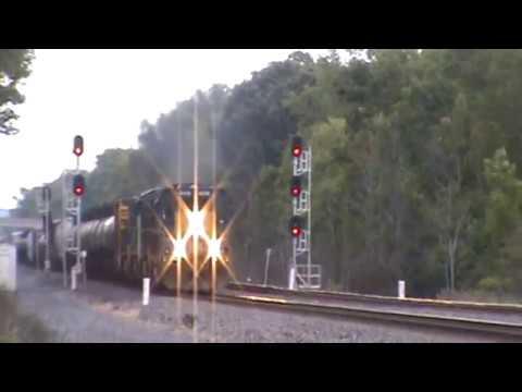 CSX / Montreal Maine & Atlantic units General Freight Weedsport, NY 9/7/17 vid 3 of 5