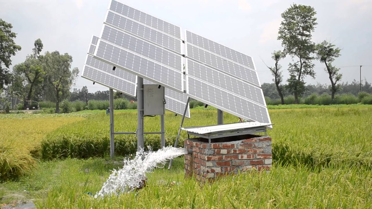Solar Irrigation Pump Youtube