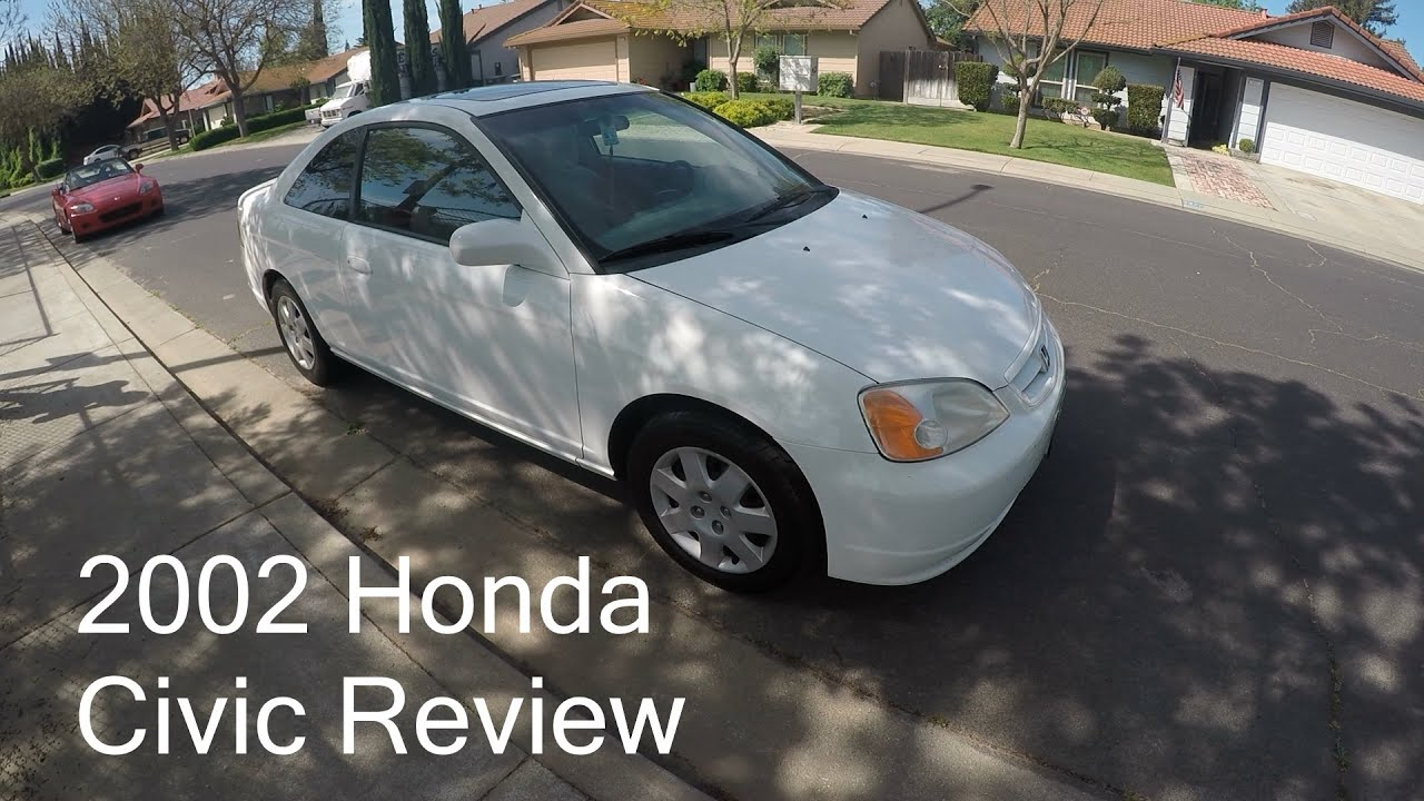 Great Daily Driver With Potential | 2002 Honda Civic EX Coupe Review