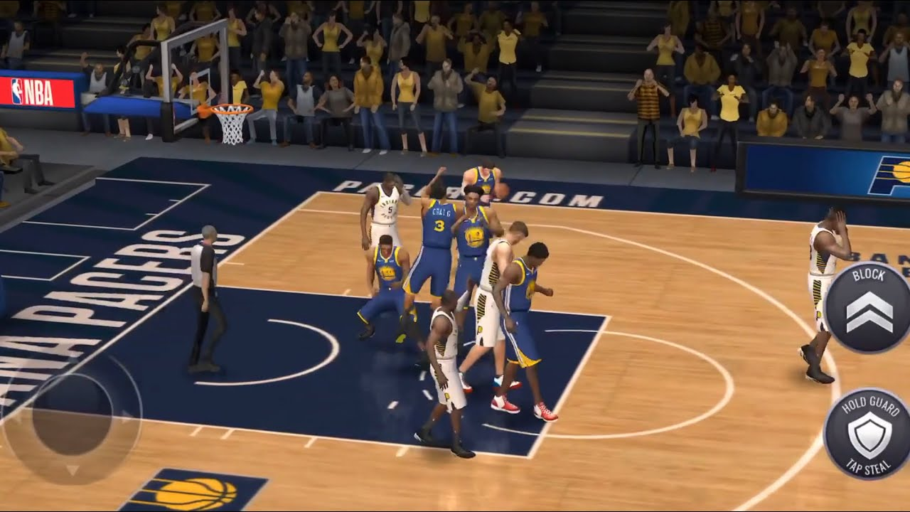 Golden State Warriors VS. Indiana Pacers 🏀 2K Sports - YouTube