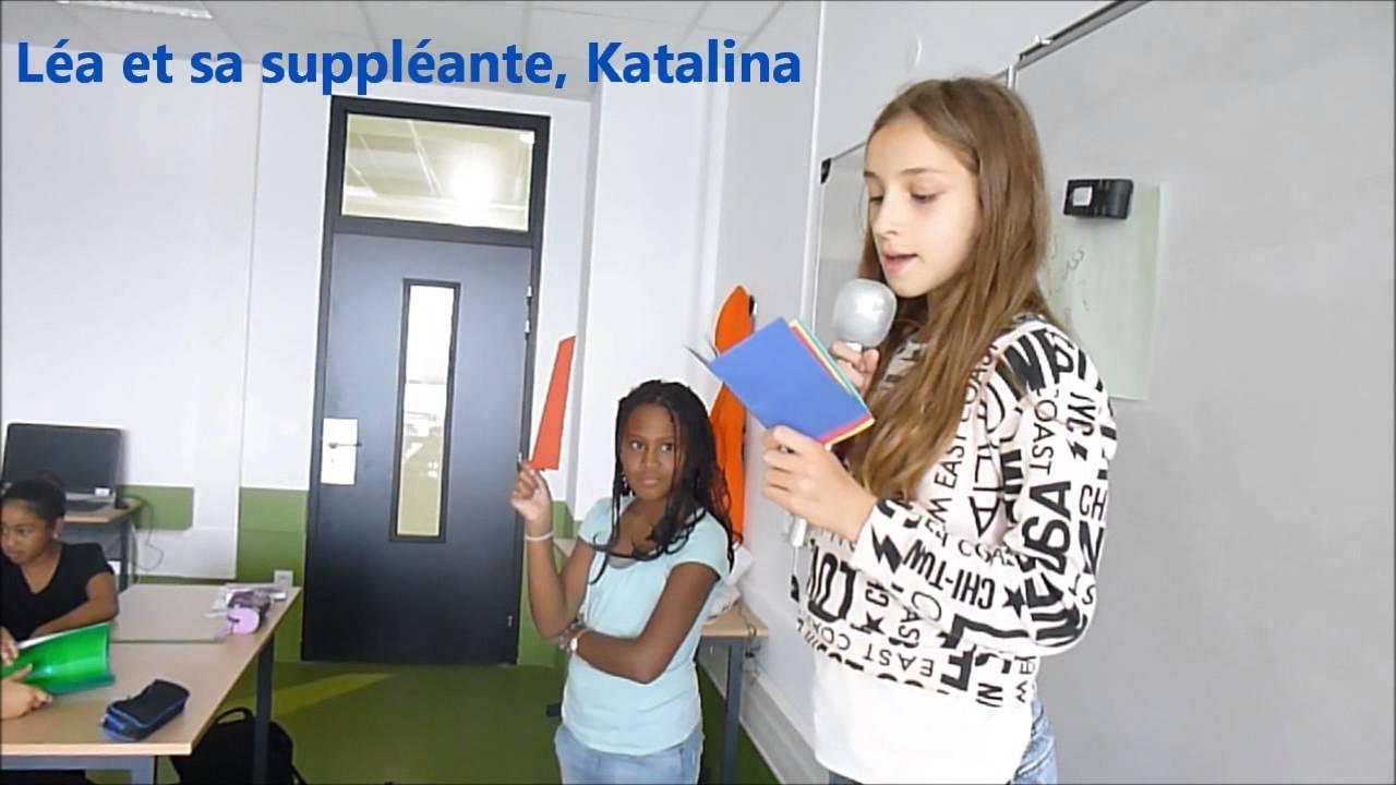 Elections Delegues De Classe 6d College Cesaria Evora Youtube