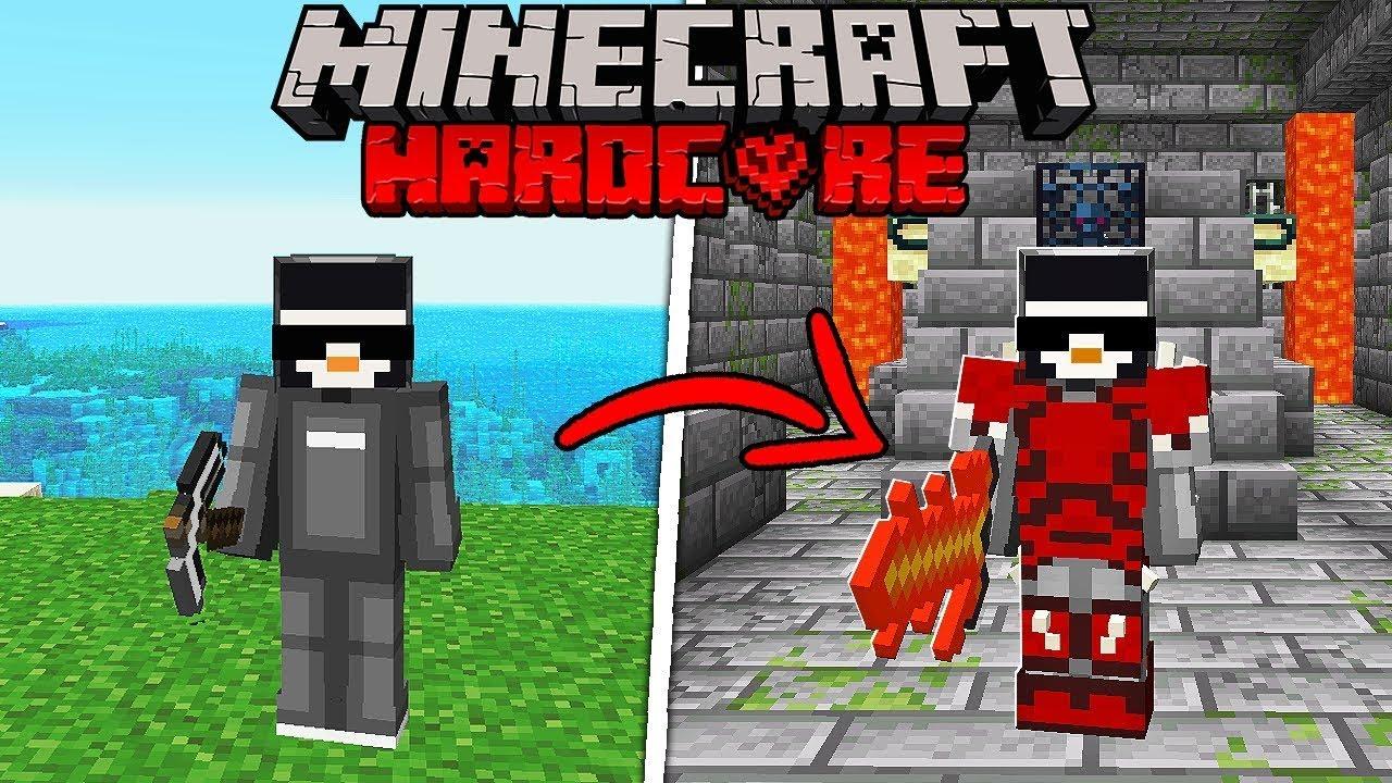 Download I Survived Minecraft's Hardest Mod...