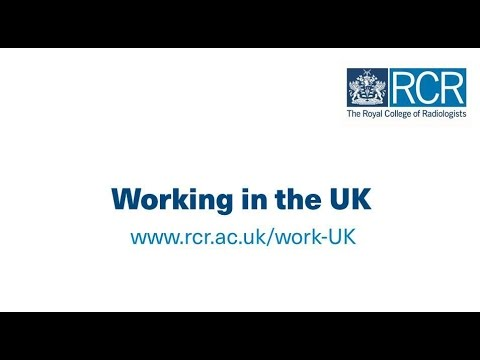 Working in the UK   The Royal College of Radiologists