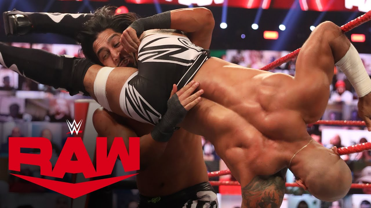Ricochet vs. Mustafa Ali: Raw, Nov. 9, 2020