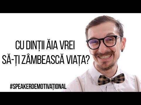 Speaker Demotivațional - Cu dinții ăia vrei să-ți zâmbească viața?