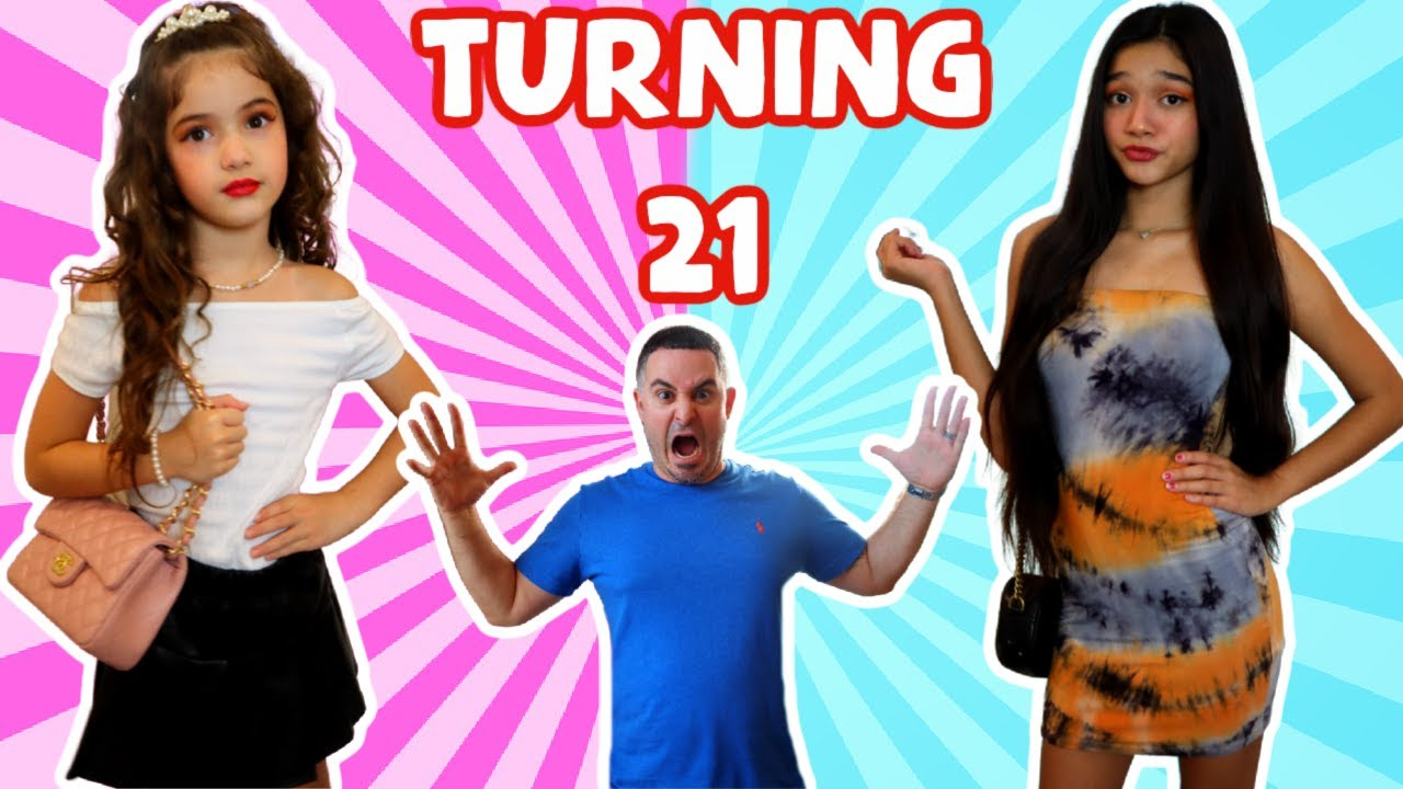 TURNING 21 YEARS OLD & GETTING OUR DAD'S REACTION!GONE WRONG!