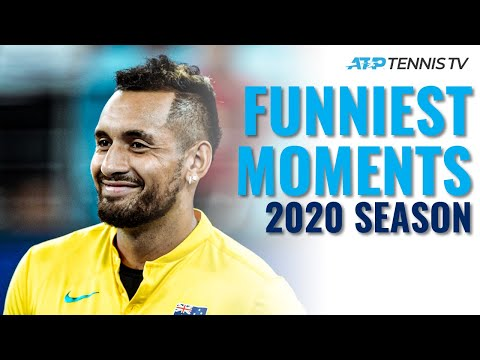 Funny ATP Tennis Moments In 2020!