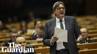 Verhofstadt Brexit is 39not an adieu only an au revoir39