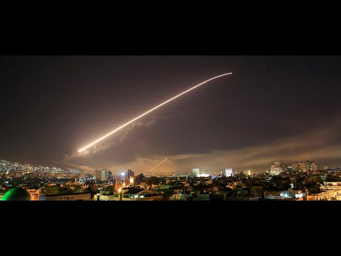 Удар по Сирии / Syria Air Strike / غارة جوية أمريكية على سوريا