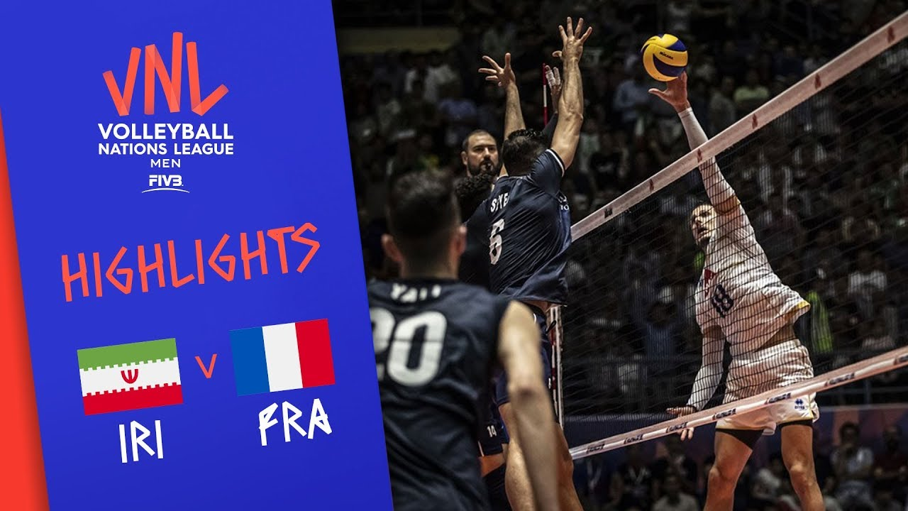 IRAN vs. FRANCE - Highlights Men | Week 4 | Volleyball Nations League 2019