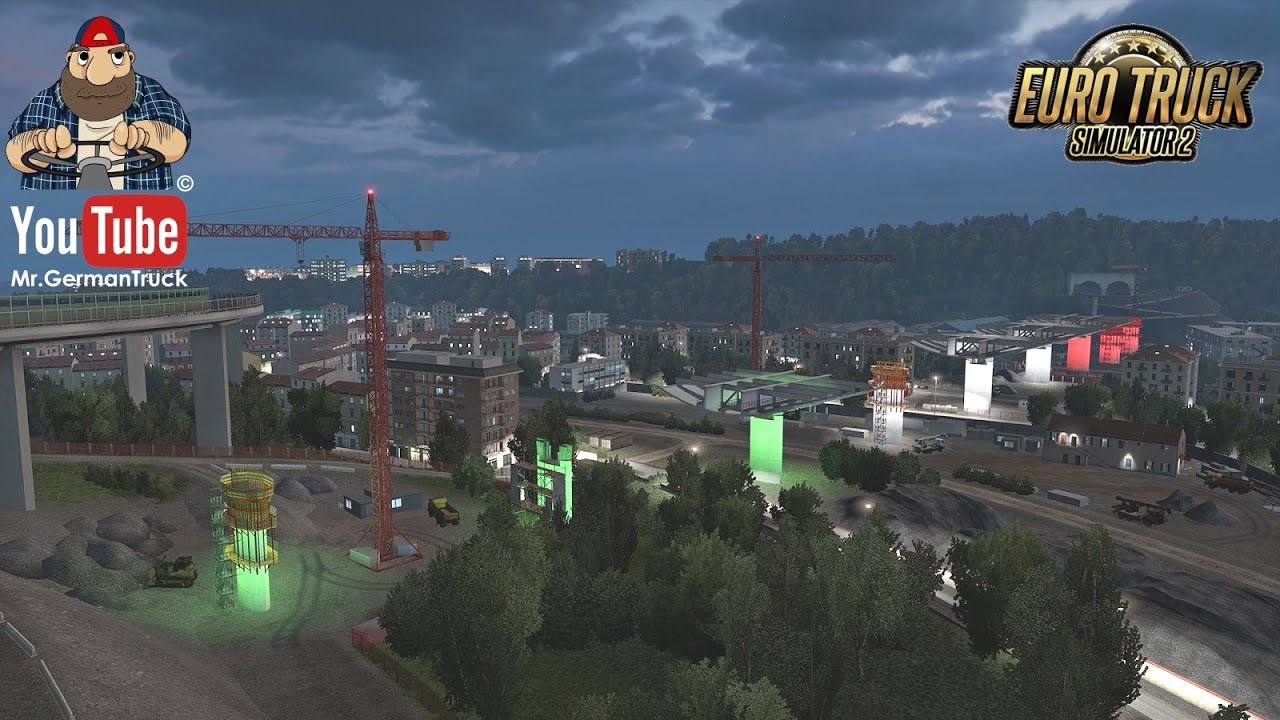 [ETS2 v1.37] World of Trucks Event: Operation Genoa Bridge