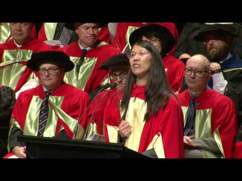 Dr Joanne Liu receives honorary doctorate from McGill