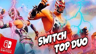 LUCHA LIBRE WRESTLER SKIN IST DA - FORTNITE SWITCH TOP DUO - SEASON 5 | EgoWhity & Tombie