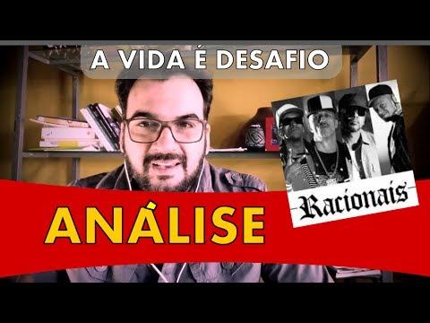 🎧 A VIDA É DESAFIO - RACIONAIS MC´S - «ANÁLISE» canaleta