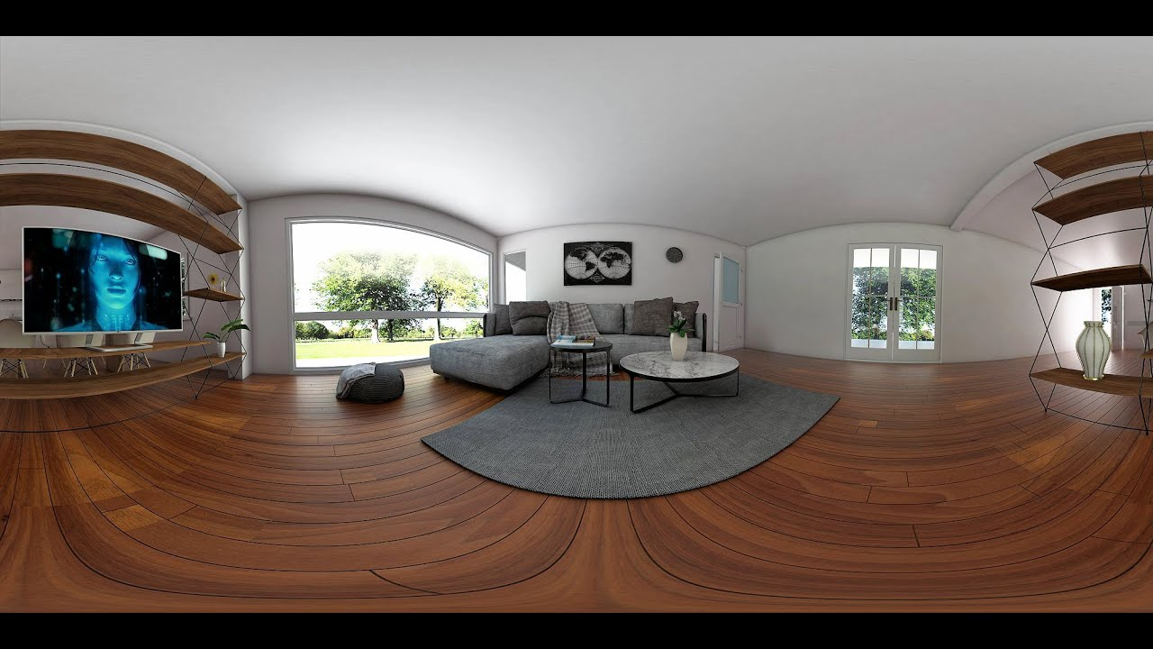 How to render a 360 panorama image with sketchup and vray for Rendering gratis