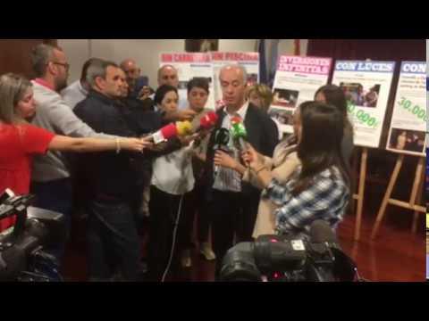 """El alcalde de Vilanova: """"Yo quiero que un juez diga si en este país hay libertad de expresión o no"""""""