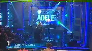 YO ME LLAMO ADELE - ONE AND ONLY (4/9) | YO ME LLAMO BOLIVIA (3/SEP/13)
