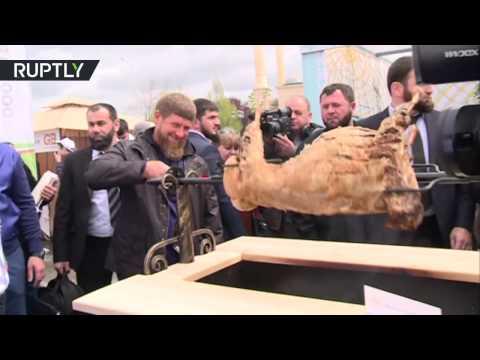 Кадыров открыл фестиваль «Шашлык-Машлык» в Грозном
