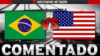 BF3 PS3 FINAL AMERICA BRASIL vs USA - Noshahr Canals