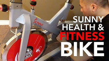 Sunny Health & Fitness SF-B1110 Indoor Exercise Best Spin Bike Unboxing and Initial Thoughts