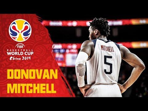 Donovan Mitchell (29PTS, 6REB) led Team USA vs. France - FIBA Basketball World Cup 2019