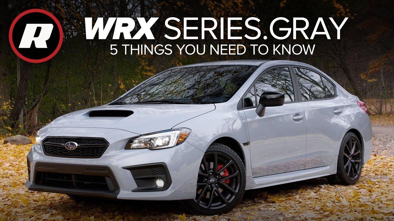 2019 subaru wrx series gray  5 things to know
