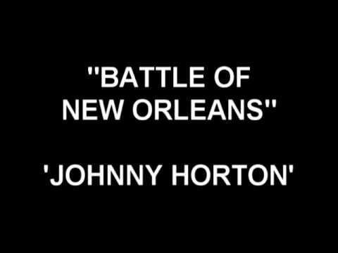 Battle of New Orleans - Johnny Horton