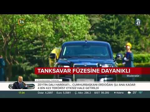 Dünya, Rusya Devlet Başkanı Putin'in görücüye çıkan yeni limuzinini konuşuyor