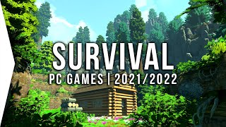 15 New Upcoming PĊ Survival Games in 2021 & 2022 ► Open World, Crafting, Base Building!